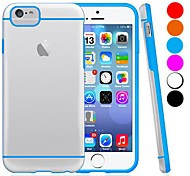 DF® Ultra Thin Pure Color Transparent Slim Case Cover for iPhone 6 Plus  (Assorted Colors)