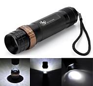 LED Flashlights / Handheld Flashlights LED 6 Mode 700-800 LumensAdjustable Focus / Waterproof / Impact Resistant / Nonslip grip / Strike