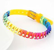 Plastic Candy Fashion Personality Wild Rhinestone Bracelet