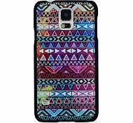 coloré motif pc de style folk cas dur de couverture arrière pour les i9600 Samsung Galaxy S
