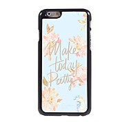 Make Today Pretty Design Aluminum Hard Case for iPhone 6