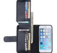 NEW Leather Wallet Full Body Cases Back Cover for iPhone 6 Plus(Assorted Color)