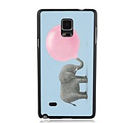 Elonbo Like Blow Bubble Gum Plastic Hard Back Case Cover for Samsung Galaxy Note 4