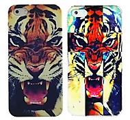 rugientes tigres casos de patrones para el iphone 4 / 4s (2-pack)