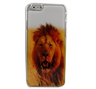 Lovely Lion Plastic Hard Back Cover for iPhone 6
