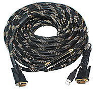 XMW 1.5M 4.92FT DVI(24+1) Male to DVI(24+1) Male Display Signal Cables
