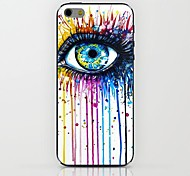 Paint Eyes Pattern hard Case for iPhone 6