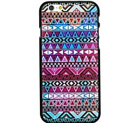 Multi-color Folk Style Pattern PC Hard Back Cover Case for iPhone 6