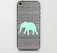 Blue Elephant Pattern hard Case for iPhone 6