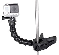 2014 New Jaws Flex Clamp Mount and Adjustable Neck for GoPro Camera Hero 1/2/3/3+ Gopro Accesories