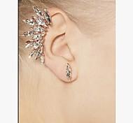 Stud Earrings Gemstone & Crystal Alloy Simulated Diamond Screen Color Jewelry 2pcs