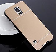 2 in 1 Metal Brushed Hard Case for Samsung Galaxy S5 I9600