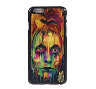 The Eyes Painting Design Aluminum Hard Case for iPhone 6