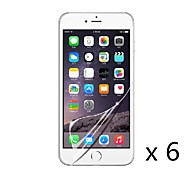 High definition Screen Protector Film for iPhone 6 (6 pcs)
