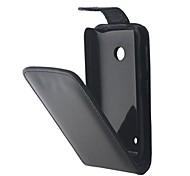 Для Кейс для Nokia Флип Кейс для Чехол Кейс для Один цвет Твердый Искусственная кожа Nokia Nokia Lumia 530