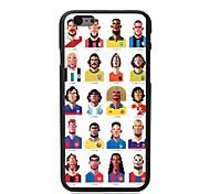 elonbo® em diferentes países e bandeira de plástico nacional capa dura Voltar para o iPhone 6 mais