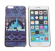 Fashion  Design Pattern Hard Back Cover for iPhone 6 Plus