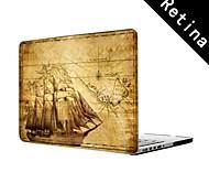 """alte Karte Design Ganzkörper-Kunststoffschutzhülle für 13 """"/ 15"""" MacBook-Pro mit Retina-Display"""