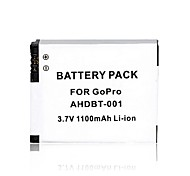 AHDBT-001 1100mAh Battery for Gopro Hero 2/ 1