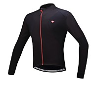 Santic Men's Cycling Jacket/ Cycling Jersey Warm Fleece Winter Thermal fleece Bike Bicycle Outdoor