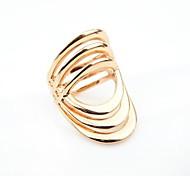 Alloy Latest Degisn Gold Plated Punk Style Wholesale Fashion Ring