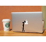 SKINAT New removable DIY lovely clean the logo laptop sticker for you tablet computer and macbook air 10*10