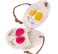 Mouse Pattern Slipper Shaped Toys For Pet Dogs(Random Colour)