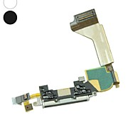 5 X Charging USB Port Dock Connector Flex Cable Replacement for Apple iPhone 4S(Assorted Colors)