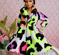 Party/Evening Dresses For Barbie Doll White / Black / Light Green Tops For Girl's Doll Toy