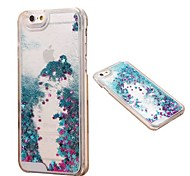 Fashion Transparent Glitter Sand Bling Quicksand Star Pattern Case Cover for iPhone 5/5S(Assorted Colors)