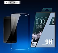 0.33mm protector de pantalla Otao claro con un paño de limpieza para lg nexus 5
