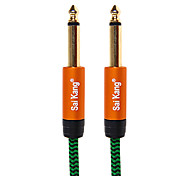 5m 16.4ft de audio de 3,5 mm a 3,5 mm m / m de cable de micrófono de audio