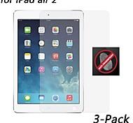 [3-Pack] HD Anti-Fingerprint Resistant Screen Protector for iPad air 2