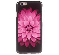 Pink Flowers Design Aluminium Hard Case for iPhone 6