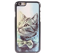 Lovely Cat Design Aluminium Hard Case for iPhone 6