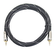 5m 16.4ft de audio de 3.5mm a 3.5mm cable de audio m / m