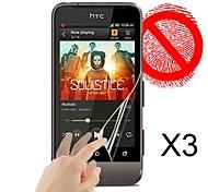 Protector de pantalla mate para HTC One V (3 piezas)