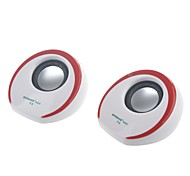 SVO t3 protable USB 2.0 Mini-Lautsprecher für PC / Handy / MP3 / DVD 1-Paar
