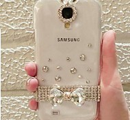 Crystal Pattern ABS Back Cover for Samsung Galaxy Note 2 N7100