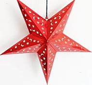Three-dimensional Laser Paper Christmas Star