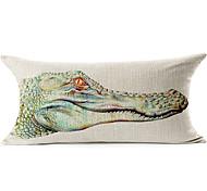 крокодил хлопок / лен декоративные талии наволочка