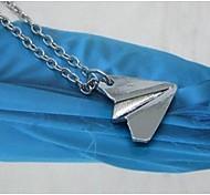 Explosion Modelle eine Richtung Papierflieger Halskette (1 PC)