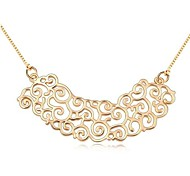 Frauen vergoldet perfekte Blüte feine Pedant Halsketten