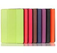 Caso de alta calidad de 8,9 pulgadas patrón de triple plegado pu leather para Google Nexus 9 (colores surtidos)