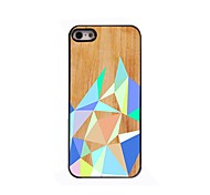 Farbe Rhombus Design Aluminium-Hülle für das iPhone 4 / 4s