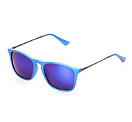 Mirrored Wayfarer PC Sports Sunglasses