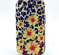 Leopard Flower Pattern TPU Soft Case for S3 I9300