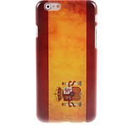 Spain Flag Design Hard Case for iPhone 6 Plus