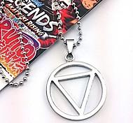Altri accessori Naruto Hidan Anime Accessori Cosplay Nero / Argento Lega