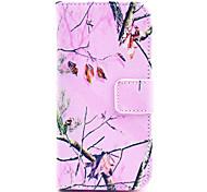 Коко fun® фиолетовый узор ковра племенной искусственная кожа полный случай тела с защитой экрана для iPhone 5с